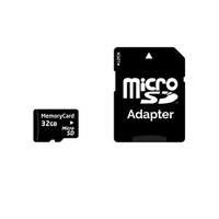 MEM CARD MICRO SD W/ADAPT CLASS 10 32GB