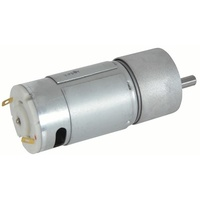 12V DC Reversible Gearhead Motors - 55RPM