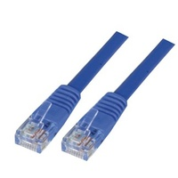1m Cat 5E Patch Lead - Blue