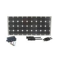 80W Recreational Solar Package Deal ZM9300Ideal package for inclusion in travel equipment or permanent installation on a caravan/RVIncludes panel, reg