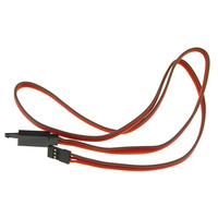 300mm JR HEAVY DUTY SERVO EXTENSION LEAD WITH RETAINING CLIP