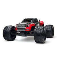 ARRMA GRANITE MEGA W/NIMH RED BRUSHED MONSTER TRUCK