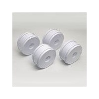 RC8 Wheels, white, 83mm
