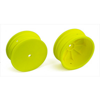 12 mm 4WD 2.2 in Front Wheels, yellow