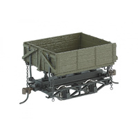 RS,WOOD SIDEDUMP CAR GRN (3 box)