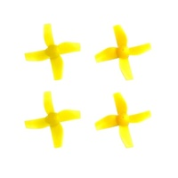 BLADE PROP SET (4) YELLOW INDUCTRIX BLH8506