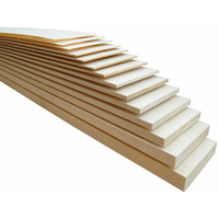 BALSA SHEET 1220x100x01.0mm