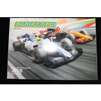 Scalextric JAN -JUNE 2018 CATALOGUE C8182 EDITION 59A