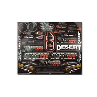 Carisma RC M40DT Sticker Sheet