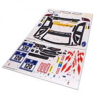 Carisma M40S 2013 Subaru Sticker Sheet
