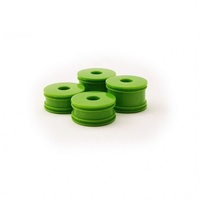 Carisma GT24B Green Wheel Set