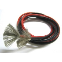 Dualsky red and black 14G silicon wire (1 metre each)