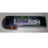 Dualsky 6S 6250 HED LiPO Battery (25C / 4C)
