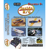 DISC,DVD SET,INSIDE R/C SEASON No1 (3 DI