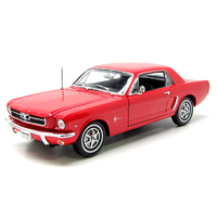 1:18 1964-1/2 MUSTANG CONV. RED