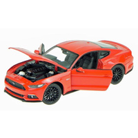 1:24 2015 FORD MUSTANG GT (RACE RED)