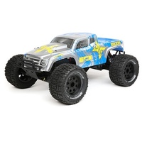 ECX 1/10 2wd Ruckus, Silver Blue RTR, LiPo and Charger Inc