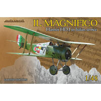 EDUARD 11139 1/48 MAGNIFICO HANRIOT HD.I ITALIAN SERVICE LIMITED EDITION PLASTIC MODEL KIT