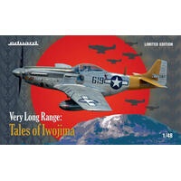 EDUARD 1142 1/48 US WWII FIGHTER P-51D, VERY LONG RANGE TALES OF IWOJIMA
