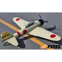 FMS A6M3 ZERO PNP 1400MM GREY