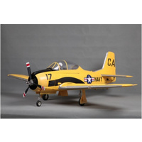***T-28D Trojan V4 1400mm Yellow PNP
