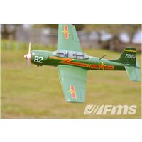 FMS CJ-6 1200mm Green PNP