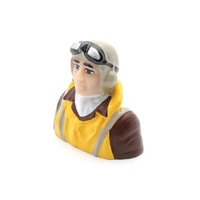HANGAR 9 1/7 SCALE WWII PILOT WITH VEST YELLOW
