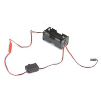 Hitec Switch Harness & Battery Box (7201 + 7202)