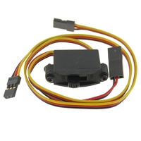HITEC S HIGH CHANNEL SWITCH HARNESS WITH Rx CHARGER CORD HRC57215