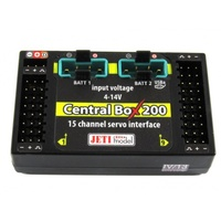 Jeti Model Central Box 200, 2x RSat2, Magentic Switch