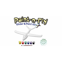 EAGLE PAINT N FLY GLIDER W/PAINT