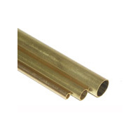 TUBE,BRASS 36x1/4 1 PCS IN OUTER