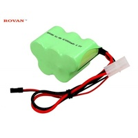 6V 4500MAH NIMH RX BAT PACK
