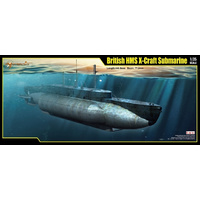 HMS X-CRAFT SUBMARINE, 1/35 KIT