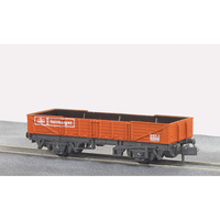 PECO RAILFREIGHT TUBE WAGON BR RED NR7R