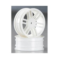 FRONT WHEEL 33MM WHITE TOMAHAWK