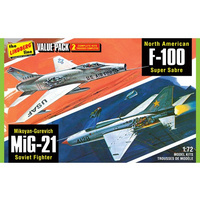 1/72 2 Pack Vietnam Era F-1