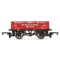 HORNBY 4 PLANK WAGON 'WESTLEIGH STONE & LIME CO. LTD'