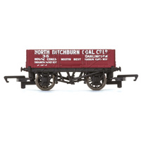 HORNBY 4 PLANK WAGON 'NORTH BITCHBURN COAL CO. LTD'