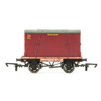 HORNBY CONFLAT AND CONTAINER WAGON R6776