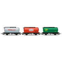HORNBY FUEL TANKER TRIPLE PACK BP R6789