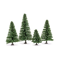 Small Fir Trees 4 - 8CM X 4PCS R7207
