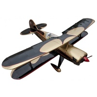 Seagull Model Steen Skybolt Bi-Plane, 15cc ARF, Black / Gold