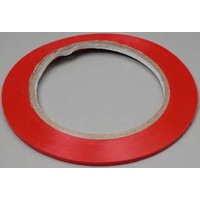 "TRIMTAPE RED, 1/8"" 3.2mm X 10.97 MTRS"