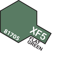 T81705 MINI XF-5 FLAT GREEN