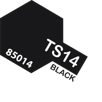 TAMIYA TS-14 BLACK 100ML T85014