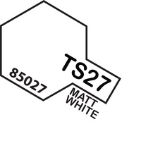 TAMIYA TS-27 MATT WHITE 100ML T85027