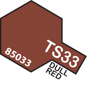 TAMIYA TS-33 DULL RED T85033