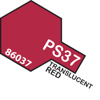 TAMIYA PS-37 TRANSLUCENT RED