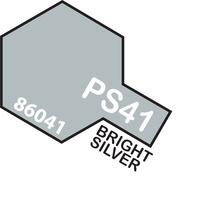 TAMIYA PS-41 BRIGHT SILVER